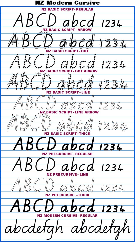 australian school fonts u2022instant download aussie