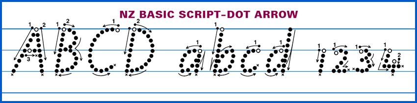 NZ Basic Script GT Dot Arrow V12