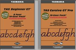 TAS Beginner Manual FREE with all Beginner Pack fonts, TAS Cursive Manual FREE with Cursive font